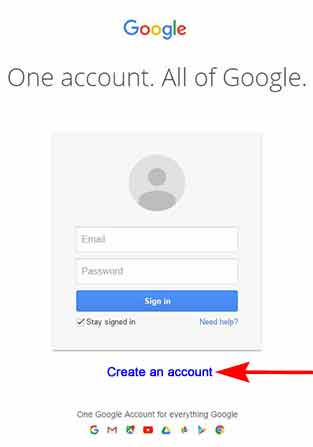 Register with Google